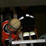 Rettungs aus Schacht